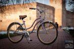 Egyedi Cruiser Női Kerékpár  1sp / 3 sp - Lila - Krem