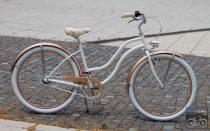 Egyedi Cruiser Női Kerékpár  1sp / 3 sp - Gyongyfeher - Rosegold