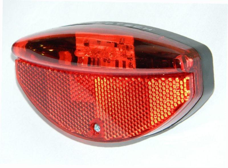 VELOTECH dinamós 3 LED hátsó lámpa