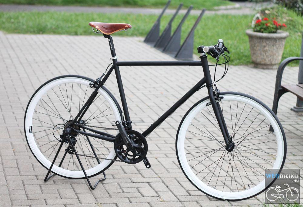 Egyedi festésű Csepel Torpedo vázra épített egyedi kerékpár - 14sp - Brooks