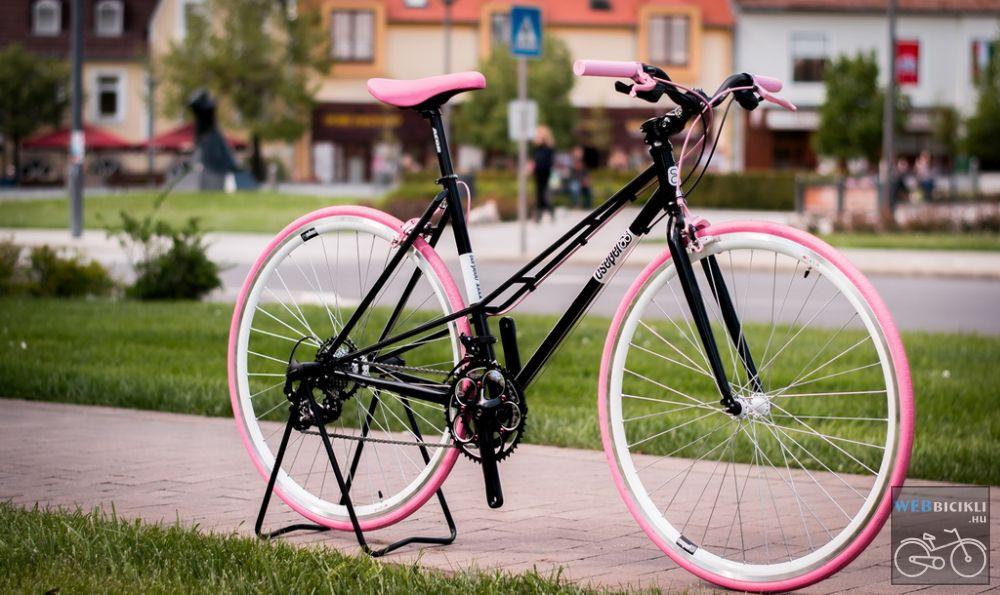 Csepel Torpedo vázra épített egyedi női kerékpár - 14sp