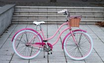 Egyedi-Cruiser-Noi-Kerekpar-1sp-/-3-sp-Rozsaszin-Pink