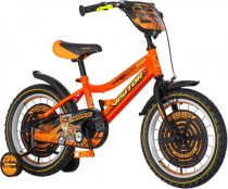 KPC Motocross 16 motoros gyerek kerékpár Narancs