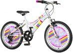 Explorer Daisy 20 gyerek kerékpár - Fehér