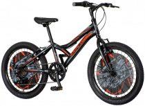 """Explorer Robix 20"""" gyerek kerékpár - Fekete"""