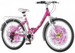 Explorer Disco Star 24 gyerek kerékpár  Rózsaszín