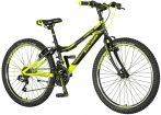 Explorer Magnito 24 - gyerek kerékpár - fekete - sárga