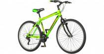 """Venssini Torino 26"""" gyerek MTB kerékpár 17"""" vázzal - Zöld színben"""