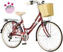 Visitor Peony városi kerékpár Bordó rózsás