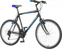 """Venssini Torino 26"""" férfi MTB kerékpár - Fekete-kék"""