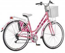 """Visitor Rózsa 28"""" városi kerékpár - Rózsaszín"""
