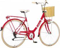 Visitor Destiny városi kerékpár piros