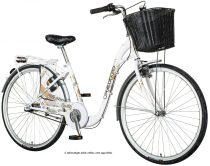 Visitor Eternity városi kerékpár Fehér - Láncváltós - 6 sebességes kivitel