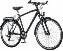 Visitor Terra Man férfi trekking kerékpár Fekete-Kék