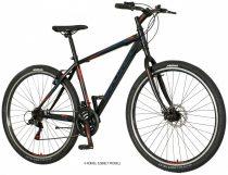 """Explorer North 29"""" Férfi MTB V-fékes kerékpár - Fekete-piros színben"""