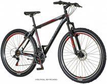 Explorer Vortex 29er V-fékes férfi MTB kerékpár - Fekete
