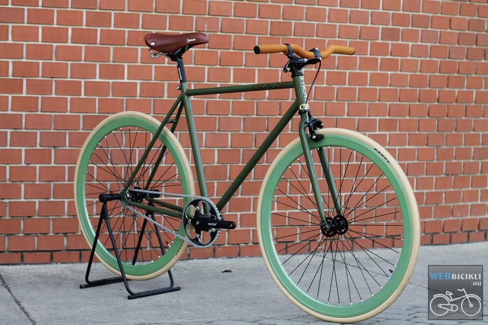 Használt fixi kerékpár