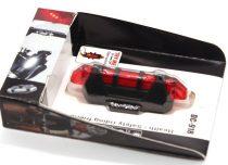 Spyral hátsó lámpa - USB-ről tölthető - 4 funkciós
