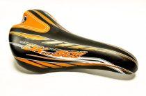 Montegrappa gyerek nyereg - Storm - Fekete-narancs színben