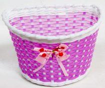 Első gyermek kosár műanyag 22X15X15 - Masnis pink