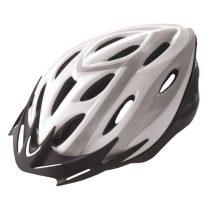 """BTA Rider felnőtt sisak 58-61cm """"L"""" méret - Fehér/ezüst"""