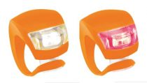 KNOG-elso-lampa-Beetle-2-led-szilikon-boritas-viza-narancs