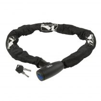 M-wave láncos lakat - 10x10x1100 mm - Textilben - Kulcsos