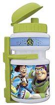 Disney kulacs+tartó -  műanyag - 350 ml - Toy Story  - Zöld Fehér