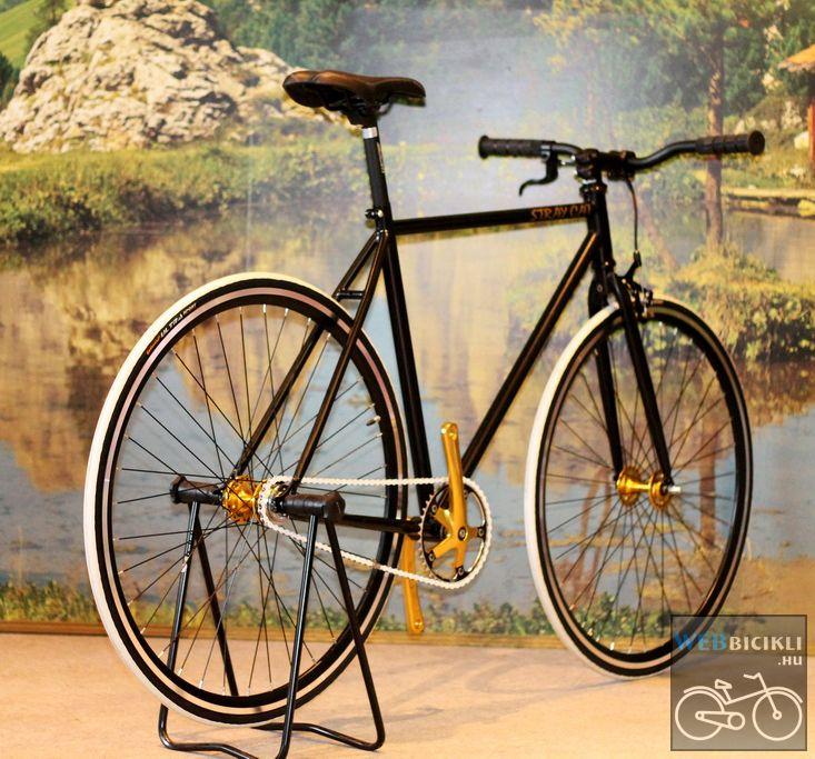ab2f618e512b Fekete Fixi Kerékpár - Egyedi építésű - Kerékpár Webshop ...
