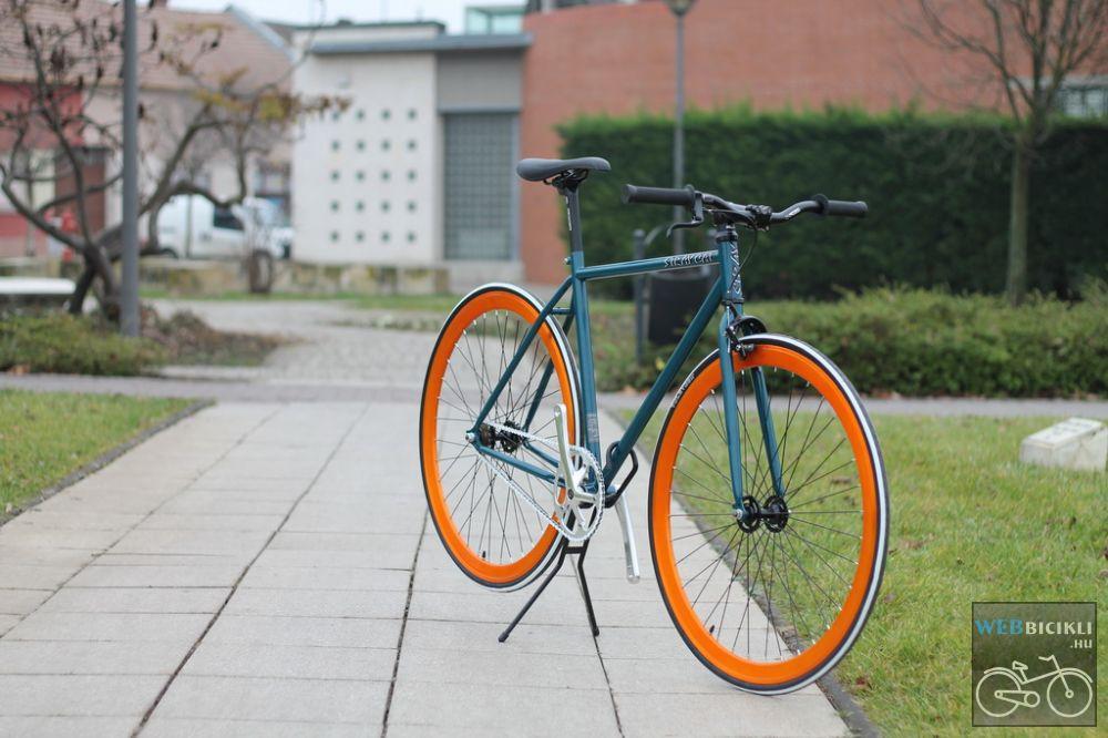c390781668f2 Zöld Fixi Kerékpár - Egyedi építésű - Kerékpár Webshop - Webbicikli ...