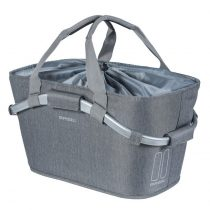 Basil-hatso-kosar-2day-Carry-All-Rear-Basket- szurke