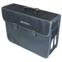 Basil-egy-oldalas-taska-Malaga-XL-Hook-ON-fekete