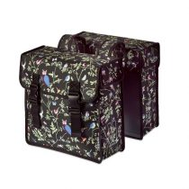 Basil-taska-csomagtartora-Wanderlust-Double Bag-fekete-35L