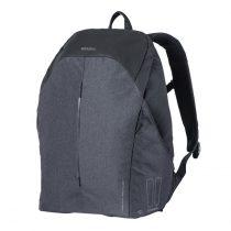 Basil-egy-oldalas-taska-hatizsak-Urban-Dry-Backpack-Hook-ON-charcoal-fekete