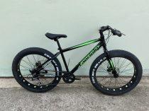 """Capriolo Mammut 26 fatbike kerékpár 17"""" Fekete-Zöld"""
