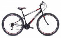 """Capriolo Passion Man 29"""" férfi MTB kerékpár extra kicsi vázzal - 16"""" méretben - Fekete-piros"""