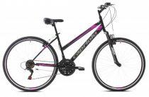 "Capriolo Sunrise Lady női crosstrekking kerékpár 19"" Fekete"