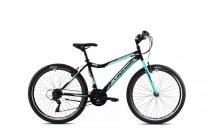 """Capriolo Diavolo 600 DX 26"""" fiú MTB kerékpár 15"""" Fekete - Extra kicsi vázzal - 2021"""
