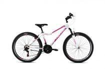 """Capriolo Diavolo 600 DX FS 26"""" női MTB kerékpár 15"""" Fehér-Rózsaszín 2021"""