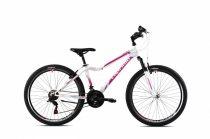 """Capriolo Diavolo 600 DX FS 26"""" női MTB kerékpár 17"""" Fehér-Rózsaszín 2021"""