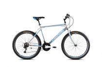 """Capriolo Passion Man 26"""" férfi MTB kerékpár 19"""" Ezüst-Kék"""