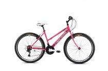 """Capriolo Passion Lady 26"""" női MTB kerékpár 15"""" Rózsaszín-Fehér 2021"""
