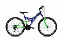"""Capriolo CTX 260 26"""" összteleszkópos kerékpár Kék"""
