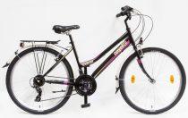 Csepel Ranger városi MTB női kerékpár-fekete színben