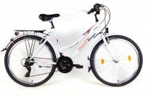 Csepel Ranger városi MTB női kerékpár-fehér színben