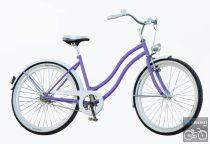 Egyedi női cruiser kerékpár agyváltós