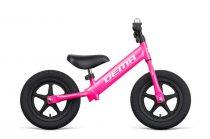 Gyermek futóbicikli DEMA Beep AIR LT - Felfújható belső  - Rózsaszín - fehér