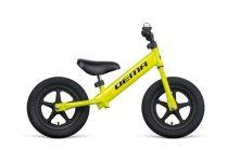 Gyermek futóbicikli DEMA Beep AIR LT - Felfújható belső  - Neonzöld