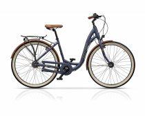 Cross Riviera Női kerékpár Low Step | Agyváltós N8 | 43cm | Mattkék