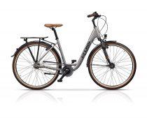 Cross Citerra Női kerékpár Low Step | Agyváltós N7 | 45cm | Ezüst